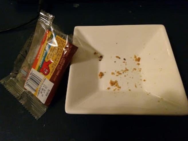 4 crumbs