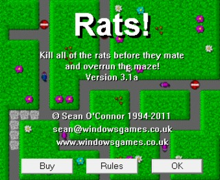 1 rats title screen