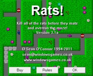 1 rats title screen